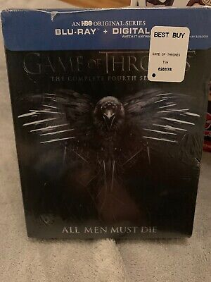 Game of Thrones Complete Fourth 4th Season Blu-ray Disc 2015 4-Disc Sealed HBO
