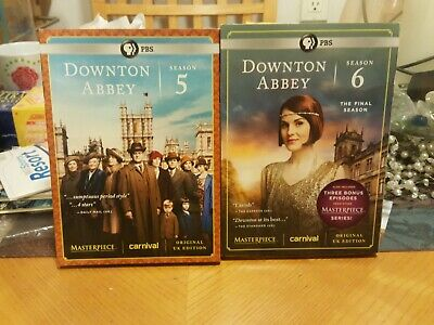 Masterpiece: Downton Abbey Season 5 & 6