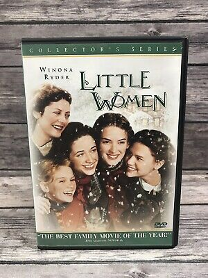 Little Women (DVD 2000 Collector's Series) Winona Ryder Susan Sarandon 1994 Film