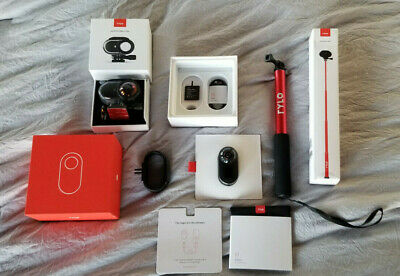Rylo 360 Degree 5.8k Action Camera plus Adventure Case and Invisible Stick