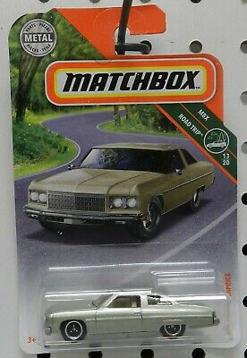 1975 75 Chevy Caprice 2Dr Silver Gold 13 6 Road Trip Gm Mb Mbx Matchbox
