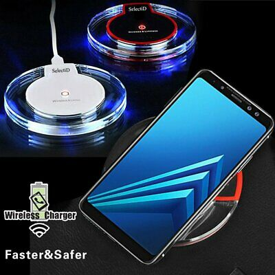 WIRELESS QI CELLPHONE Charger Cordless Charging Pad Phone