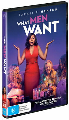 What Men Want (DVD , 2019) (Region 4) New Release