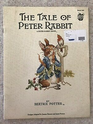 Beatrix Potter The Tale Of Peter Rabbit Cross Stitch Pattern Book