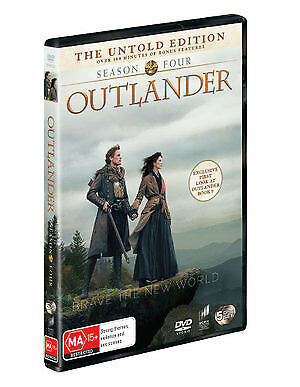 Outlander : Season 4 (DVD , 2019) (Region 2,4,5) New Release