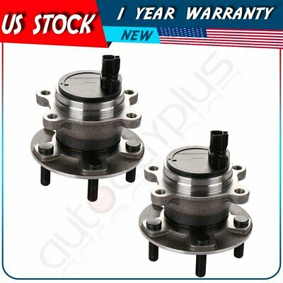 Pair 2 Rear Left or Right Wheel Hub Bearing & Assembly Fits Ford Focus 2012-2016
