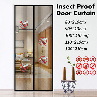 Magnetic Insect Door Net Screen Bug Mosquito Fly Insect Mesh Guard Curtain