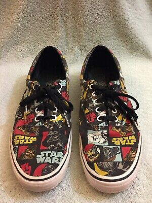 21292fd24a VANS ERA STAR WARS Classic Repeat Shoe May The Force Be With You Mens 13