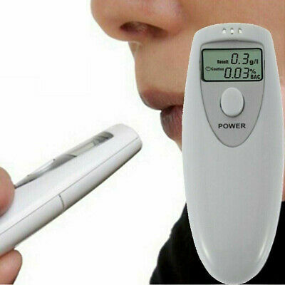 For Police Alcohol Digital Breathalyzer Breath Tester Analyzer Breathalyzer LCD
