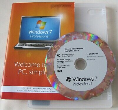 Genuine Windows 7 Professional  32bit DVD Product Key Full OEM Version