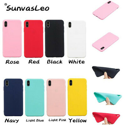Colorful Candy Matte TPU Soft Silicon Case Skin For Huawei Phone Cover Shell KL4