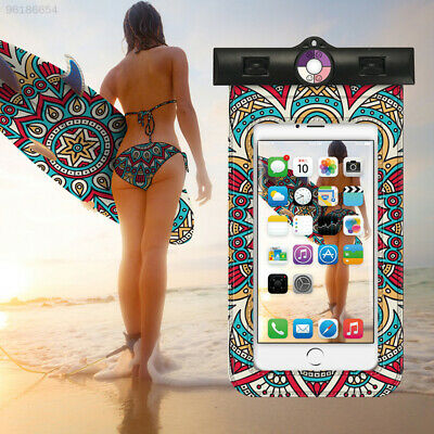 Waterproof Underwater Pouch Dry Bag Case Cover For Cell Phone Touchscreen E06E