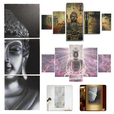 Buddha Canvas Painting Print Picture Room Home Wall Art Decor Framed/Unframed 1