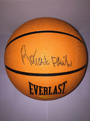 Robert Parish Celtics Legend (NBA) AUTOGRAPHED Basketball - see signing proof