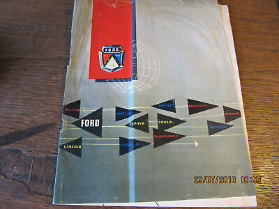 Catalogue FORD 1955
