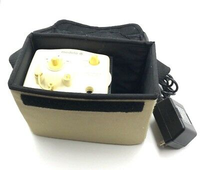 MEDELA PERSONAL DOUBLE BREAST PUMP with Bag & Adapter