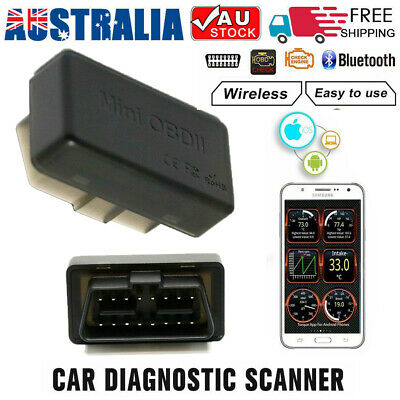 ELM327 Wireless OBD2 OBDII Auto Car Diagnostic Scanner Scan Tool for iOS Android
