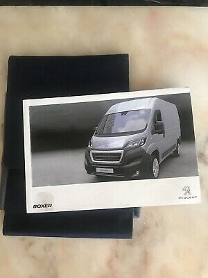 2011-2014 Peugeot Boxer Owners Handbook Manual Pack And Wallet 2014