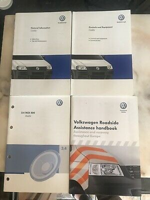 Genuine Vw Caddy Handbook Wallet Pack And Owners Manuals 2004 On