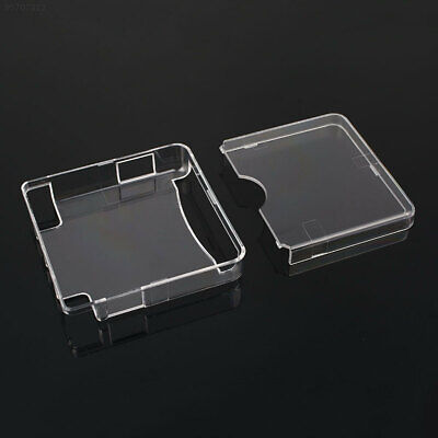 8448 White Transparent Crystal Case Shell Protection Cover Sleeve For GBA SP