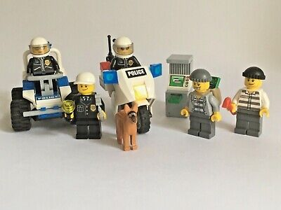 Lego City Police Minifigure Collection Police Motorcycle Sets