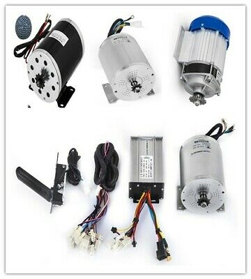 48V DC 500W Electric Brushless Motor w Controller DIY Go