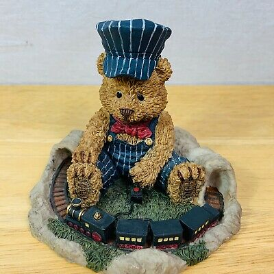"""Tyler """"LIL' CONDUCTOR"""" The Windsor Bears of Cranbury Commons L63550 1998 Papel"""