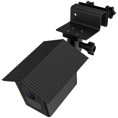 1pc Black Outdoor Gutter Fixed Holder Bracket + Case for Arlo Pro Camera TH1330