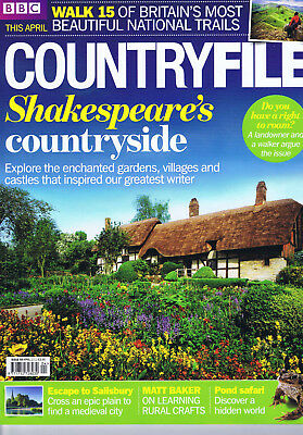 COUNTRYFILE magazine. Issue 59.  April  2012.  Excellent condition.
