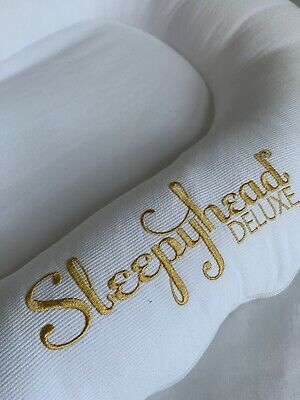White 100% cotton Sleepyhead Delux spare cover in excellent condition