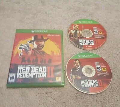 Red Dead Redemption 2 Xbox One Microsoft Preowned Game With Hanover Map