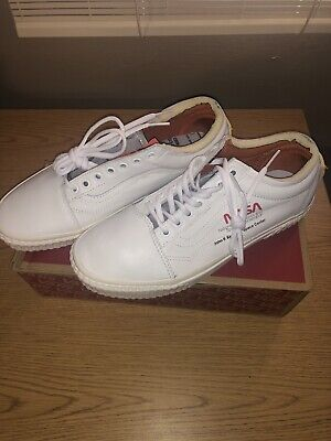 e1df027bd6 VANS X NASA Old Skool True White Space Voyager Collab Shoes All NEW ...