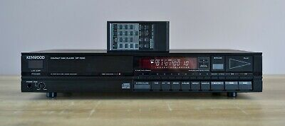 Kenwood DP-1000  Compact Disc Player with Remote Control Made in Japan 1986