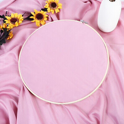 1pcs Round Natural Bamboo Wooden Sewing Embroidery Cross Stitch Ring Hoop Crafts