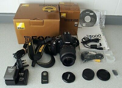 Nikon D5000 12.3 MP DX Digital SLR Camera with 18-55mm f/3.5-5.6G VR Lens and...