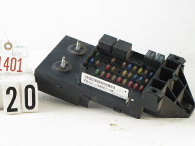 97-98 Ford F250 Truck Interior Dash Fuse Box Relay Fuse Box Panel F65B-14A067-Af