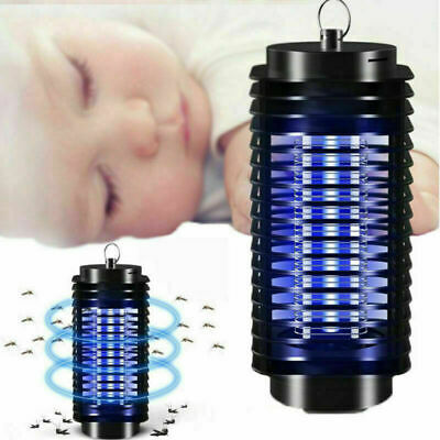 UK Electric UV Insect Killer Mosquito Fly Bug Pest Zapper Catcher Trap LED Light