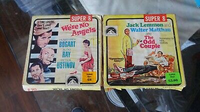 super 8 mm films were no angles and the odd couple
