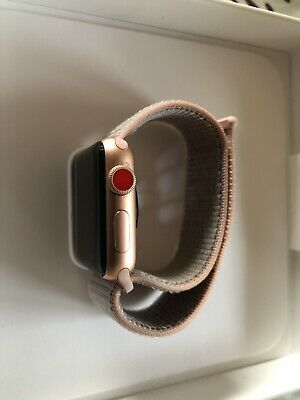 Apple Watch Series 3 38mm Cellular (LTE) in Gold Rose