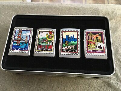 2000 Zippo Doral Destination Series Lighter Set