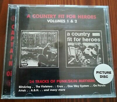 A Country For Our Heroes Vol. 1 & 2 - Punk Oi Skin Compilation CD