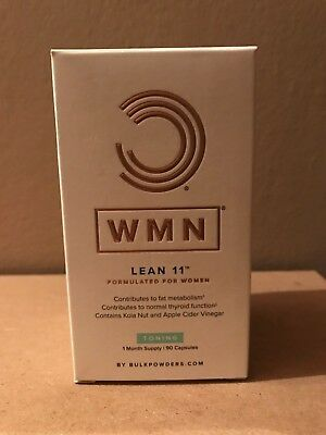 WMN Lean 11 Toning Forumlated for Women 1 Month Supply 90 Capsules - BNIB