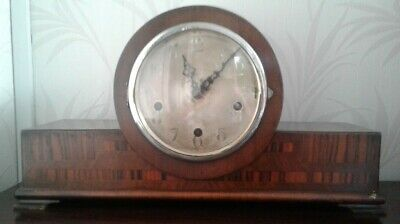 Westminster Chime Mantel Clock Spares Or Repair