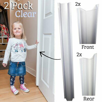 Cardea Child Safety Door Finger Pinch Guard Hinge Protector 2-Pack