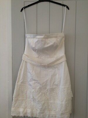 coast white amber dress size 12