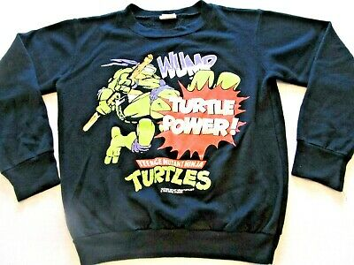 Teenage Mutant Ninja Turtles VTG 1988 Sweatshirt Youth (14) Karate TMNT Cartoon