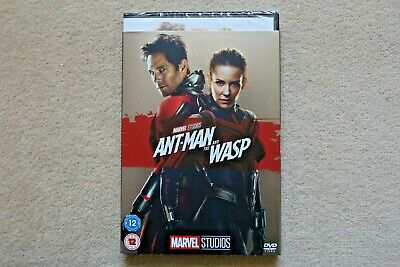 Marvel Ant Man And The Wasp   With Limited Edition Slipsleeve New Dvd