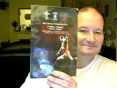 Wales V France Rugby  Programme 21.02.2014  Rbs 6 Nations Ideal Rugby World Cup