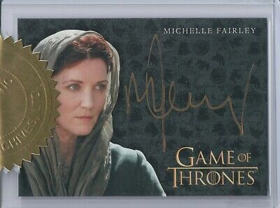 Game of Thrones 7, Michelle Fairley 'Catelyn' 6 Case Incentive Autograph Card