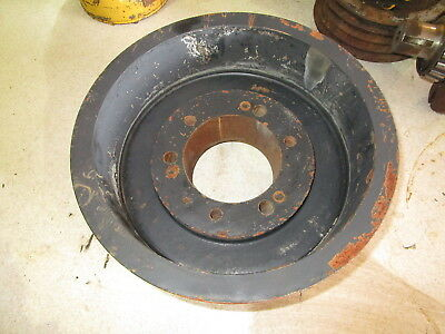"Twin Disc 8 Groove PTO Pulley NICE 3.5"" Shaft Diameter Clutch Drive Shaft"